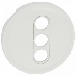 Tasta Legrand 68213 Celiane - Placa pentru priza tripla RCA celiane, alb