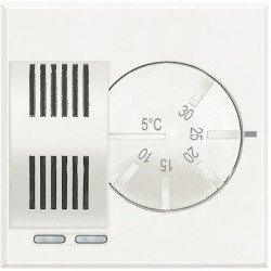 Termostat Bticino HD4441 Axolute - Termostat de ambianta, 230V, 2 module, alb