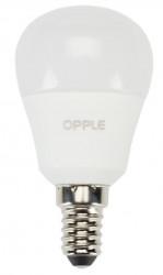 Bec cu led Opple 140044688 - Sursa LED E P45 E14 4W 2700K FR BL