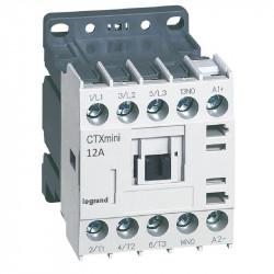 Contactor Legrand 417041 - Contactor putere CTX MINI CT 3P 12A 1NO 24VDC
