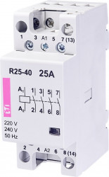 Contactor modular Eti 2462320 - R25 31 230V