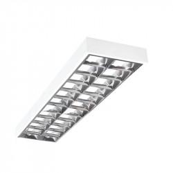 Corp de iluminat Kanlux Notus 19732 - Corp aplicat, T8, G13, 2x36W, 1225x295, IP20, alb