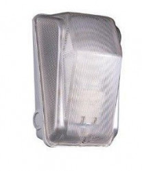 Corp iluminat Gewiss GW80403 - Aplica avarie , 75W/E27 ,rosie