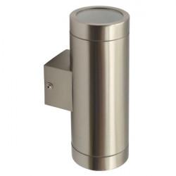 Corp iluminat Kanlux 18011 MAGRA EL-235 - Aplica gradina GU10, 2 x max 35W, IP44, inox