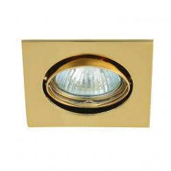 Corp iluminat Kanlux 2552 NAVI CTX-DT10 - Spot incastrat, Gx5,3, max 50W, 12V, IP20, auriu
