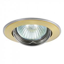 Corp iluminat Kanlux 2800 BASK CTC-5515 - Spot incastrat directional, Gx5,3, max 50W, 12V, IP20, auriu/ nichel