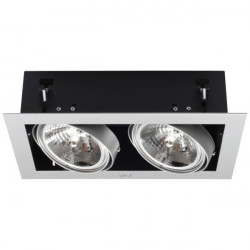 Corp iluminat Kanlux 4961 MATEO DLP-250 - Corp iluminat birou, GX53, 2xmax 50W, IP20, 12V, gri