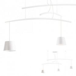 Corp iluminat Redo 01-1524 Lolli - Lustra led, 18W, 3000k, 1145lm, alb