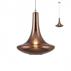 Corp iluminat Redo 01-1624 Decanter - Lustra, max 1x42W, E27, IP20, sticla cuprata