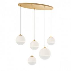 Corp iluminat Redo 01-2272 Berry - Lustra, max 5x42W, E27, IP20, auriu