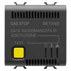 Detector Metan Gewiss GW12712 Chorus - Senzor gaz metan, CH4 2M 12V AC/DC Negru