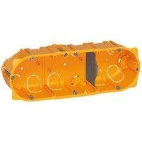 Doza Legrand 80043 Celiane - Doza 3 posturi, pentru rigips, inaltime 40mm