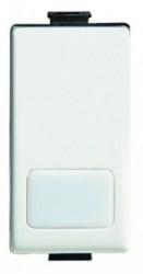 Intrerupator Bticino AM5001L Matix - Intrerupator simplu 16A iluminabil, fara led - 250V, 1 modul, alb