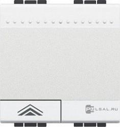Intrerupator Bticino N4582N Living Light - Variator, comanda tactila, rezistiv/inductiv 450W-800W, 2M, 250V, alb