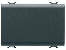 Intrerupator Gewiss GW12081 Chorus - Intrerupator cap scara 3M 1P 16AX NEGRU