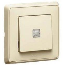 Intrerupator Legrand 773926 Cariva - Intrerupator cap scara cu lumina control Ivoire