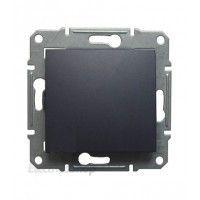 Intrerupator Schnedier SDN0100370 Sedna - Intrerupator simplu, IP44, 10 AX - 250 V grafit