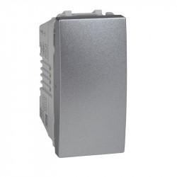 Intrerupator Schnedier Unica MGU3.101.30 Top, Class - Intrerupator simplu 1M, aluminiu