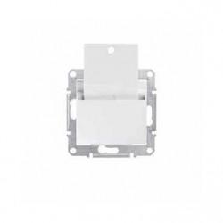 Intrerupator Schneider SDN1900121 Sedna - Intrerupator cu card, 10 AX - 250 V alb