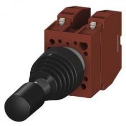 Intrerupator Siemens 3SB1201-7GW01 - KOORDINATENSCHALTER, 22MM, RUND, KUNSTSTOFF, SCHWARZ, KUNSTSTOFFF