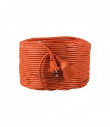 Prelungitor Kanlux 26211 NOKA - Prelungitor 10A, 1P, IP20, 2G1.0X15M, portocaliu