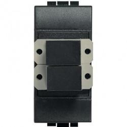 Priza Semnal Bticino L4268SC Living Light - Conector fibra optica, 1M, negru