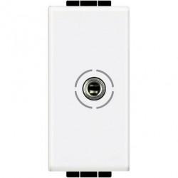Priza Semnal Bticino N4280 Living Light - Conector audio jack 3.5, 1M, alb