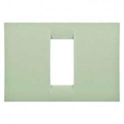 Rama Gewiss GW22141 System - Rama Virna 1M, termoplastic, oriz, verde venetian