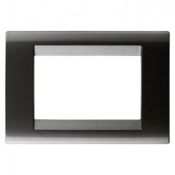 Rama Gewiss GW32003 Playbus - Rama Playbus 3M, oriz, tehnopolimer metalizat, negru ardezie