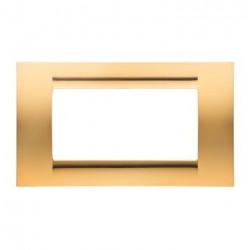 Rama Gewiss GW32064 Playbus - Rama Playbus 4M, oriz, tehnopolimer, auriu