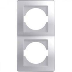Rama Tem OE21ES-U Ekonomik - Rama dubla verticala argintiu