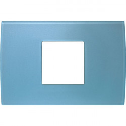 Rama Tem OP23GB-U Modul - Rama din sticla decorativa Pure 2/3m albastru gheata