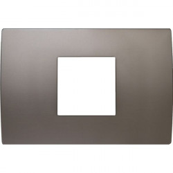 Rama Tem OP23MN-U Modul - Rama metalica decorativa Pure 2/3m nichel satinat