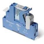 Releu Finder 4C0290240050SPA - Interfata modulara cu releu electromecanic, 4C, 24V, DC, 8A