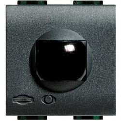 Senzor miscare Bticino L4654N Living Light - Senzor de miscare cu infrarosu, 2M, negru