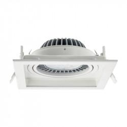 Spot Arelux XStep ST02 MWH - Corp iluminat fara bec 1X50/60W G53 12V IP20 MWH, alb