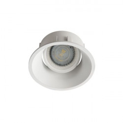 Spot Kanlux 26736 IVRI DTO - Inel spot directional incastrat LED GU10, max 35W, IP 20, alb