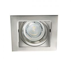 Spot Kanlux 26756 ALREN - Inel spot directional incastrat LED GU10, max 35W, IP 20, inox