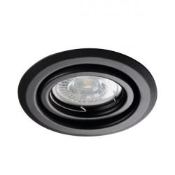 Spot Kanlux 26796 ALOR - Inel spot directional incastrat LED GU10, max 35W, IP 20, negru