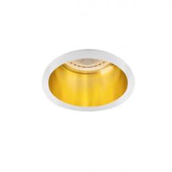 Spot Kanlux 27327 Spag - Inel spot incastrat LED GU10, max 35W, alb/auriu