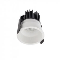 Spot LED Arelux XClub CU02NW50 MWH - Corp LED 1x11W 4000K 500mA 50grd. IP20 MWH (5f), alb