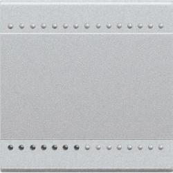 Tasta Bticino NT4915M2N Living Light - Tasta iluminabila, 2 module, argintiu