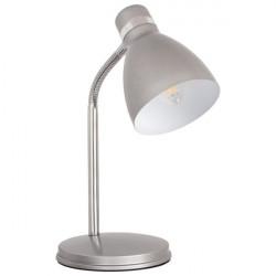 Veioza Kanlux 7560 ZARA HR-40-SR - Lampa de birou, E14, max 40W, IP20, argintiu