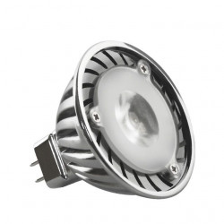 Bec Kanlux 8790 POWER-LED - Spot led, 2,7W, Gx5,3, 6500k, 230V, argintiu