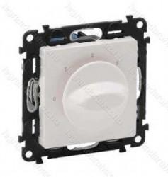 Comutator Legrand 752132 Valena Life - Comutator control ventilatie, 0123, alb