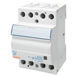 Contactor Gewiss GWD6722 - Contactor putere CTR - 40A 3NO 230V - 3 MODULES