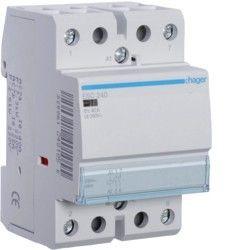 Contactor modular Hager ESC240 - CONTACTOR, 40A, 2ND, 230V