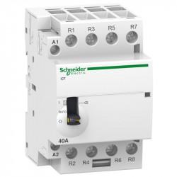 Contactor modular Schneider A9C21843 - iCT 40A 3Nd 220/240V 50Hz
