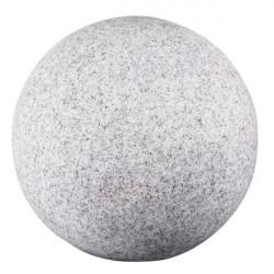Corp iluminat 24653 24654 STONO 50 - Aplica gradina E27, max 25W, IP65, D=50cm, granit