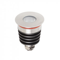 Corp iluminat Arelux XGround GD13NW45 - Corp incastrat cu led 1X3W CREE 4000K 45grd IP67 SS (5f), aluminiu